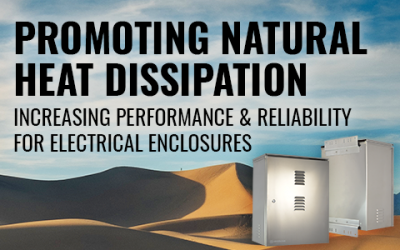 Promoting Natural Heat Dissipation In Electrical Enclosures
