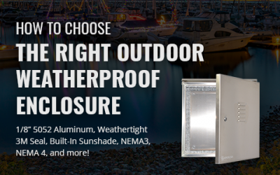 How To Choose The Right Outdoor Weatherproof Enclosure