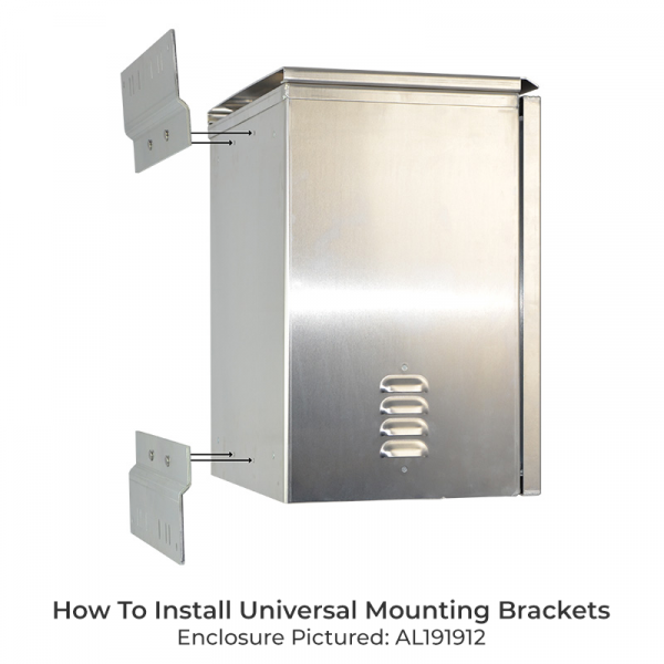 How To Install Universal Mounting Brackets - Al191912