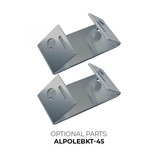 ArmorLogix Enclosure Accessory - Optional 45° Brackets - ALPOLEBKT-45