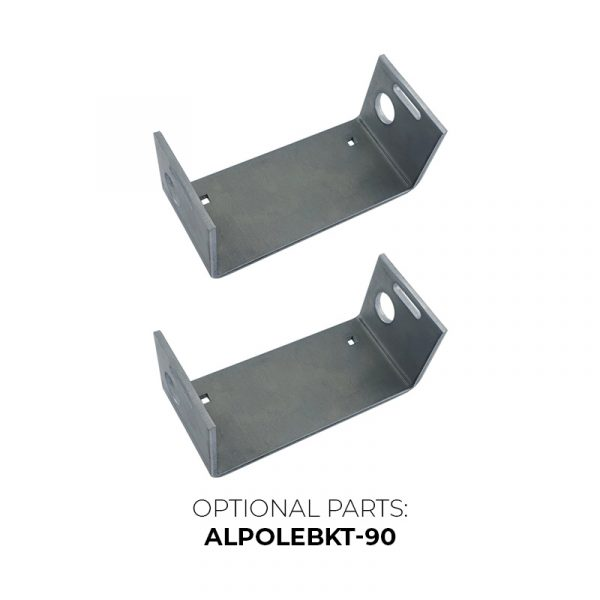 ArmorLogix Enclosure Accessory - Optional 90° Brackets - ALPOLEBKT-90