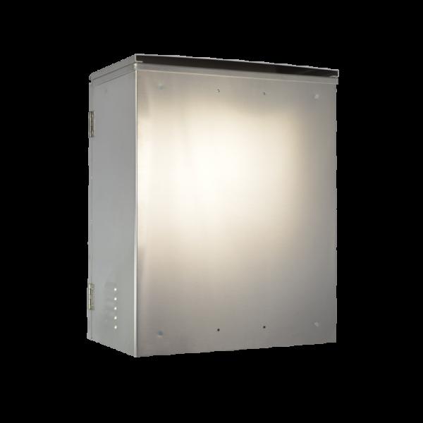 AL 272213 NEMA 3 Aluminum Enclosure -Back Right
