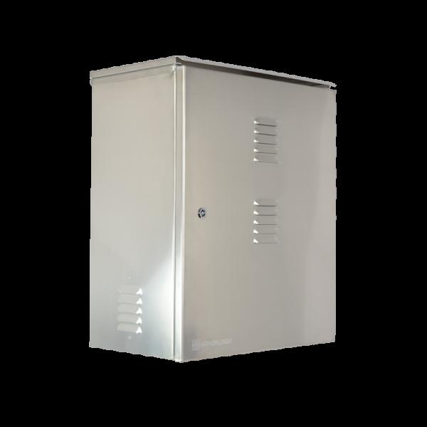 AL 272213 NEMA 3 Aluminum Enclosure - Front Side