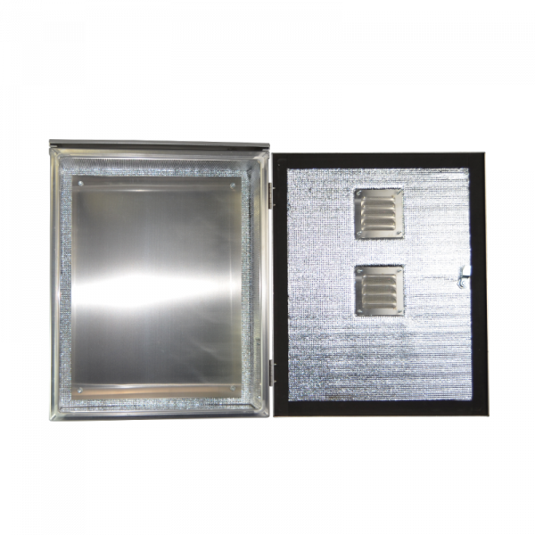 AL 272213 NEMA 3 Aluminum Enclosure - Full Open