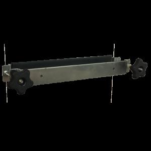 "Equipment Mounting Bracket for 16 x 16 x 10"" Weatherproof Aluminum Enclosure"
