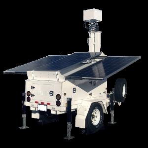 AL3500 Solar Trailer with Generator