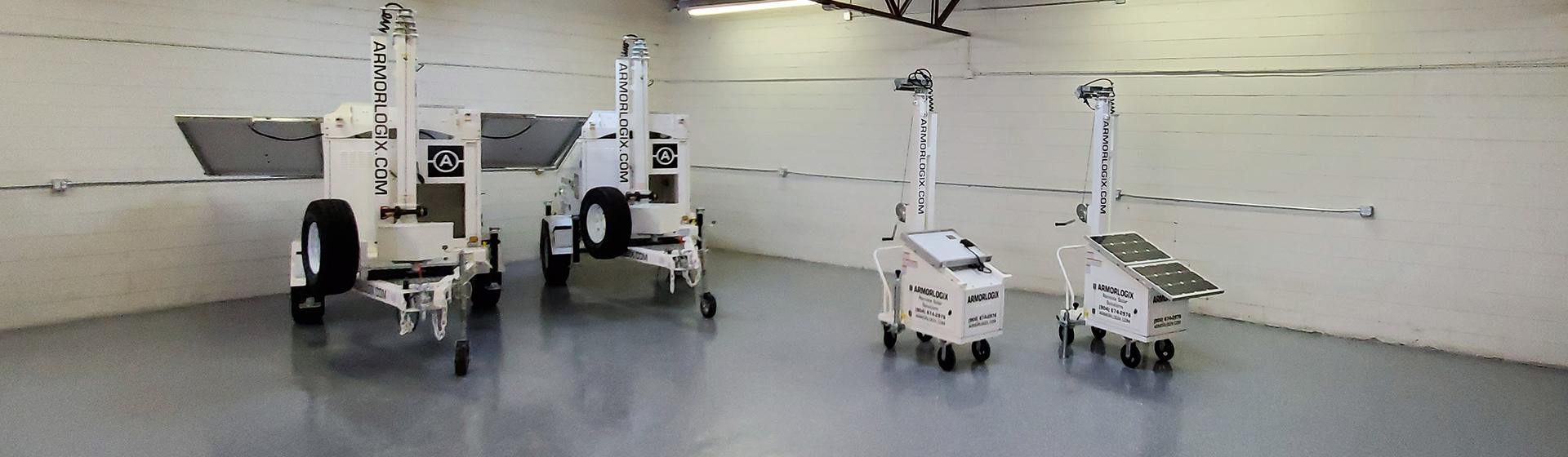 AL450 Solar Powered Carts from ArmorLogix