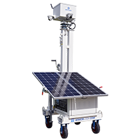 AL550 solar cart with CCTV package