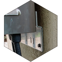 Universal Wall and Pole Mounting Brackets for ArmorLogix aluminum enclosures