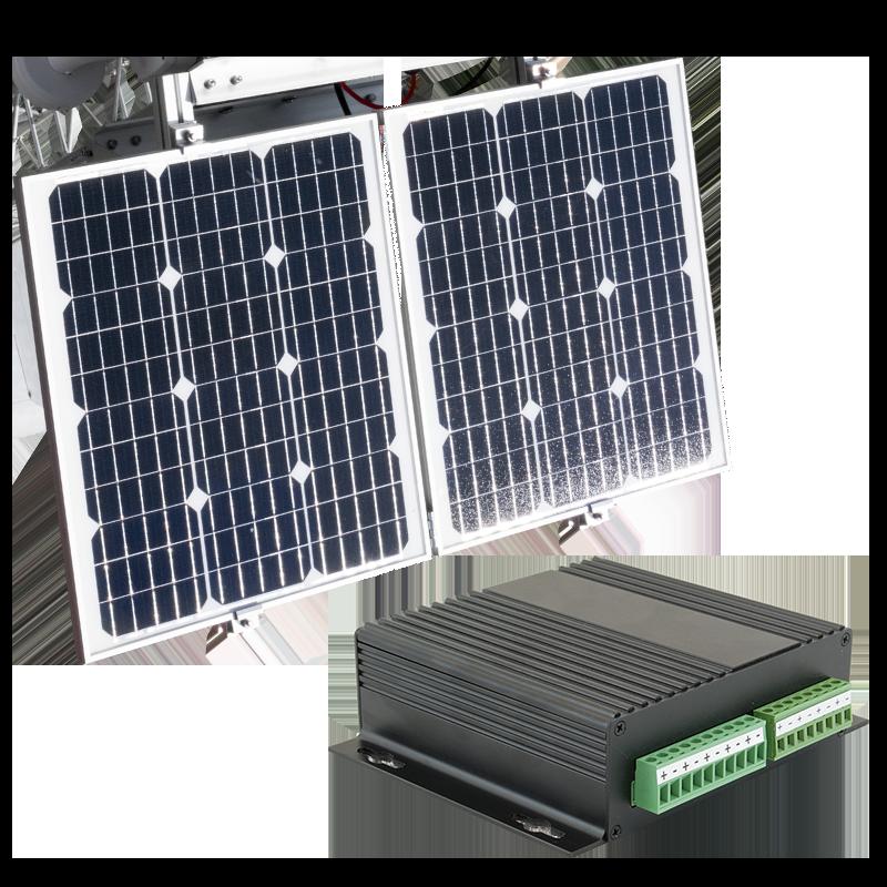 110V, 12V or Solar Power options for weatherproof enclosures