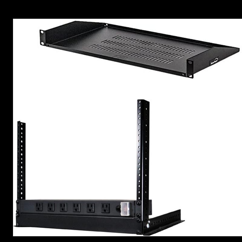 Equipment Racks and Shelves for ArmorLogix aluminum enclosures
