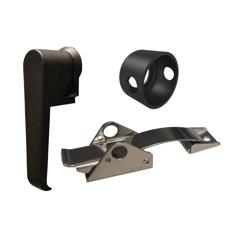 Secure Locks and Latches for ArmorLogix Weatherproof Enclosures