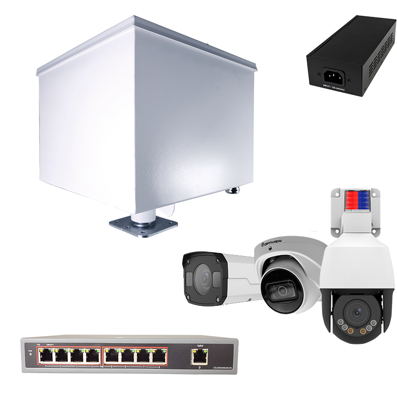 Optional Accessories for ArmorLogix Solar Platforms