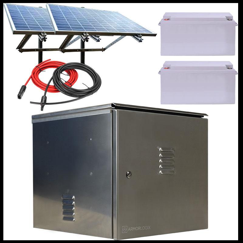 SM200-300AH Solar Powered Platform from ArmorLogix