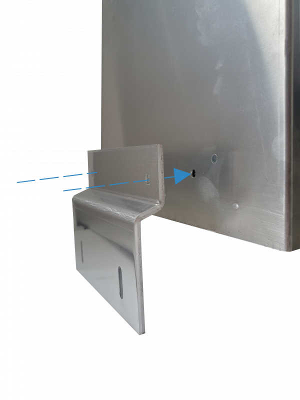 Weatherproof enclosure with 4G and GPS connectivity - Mounting Brackets
