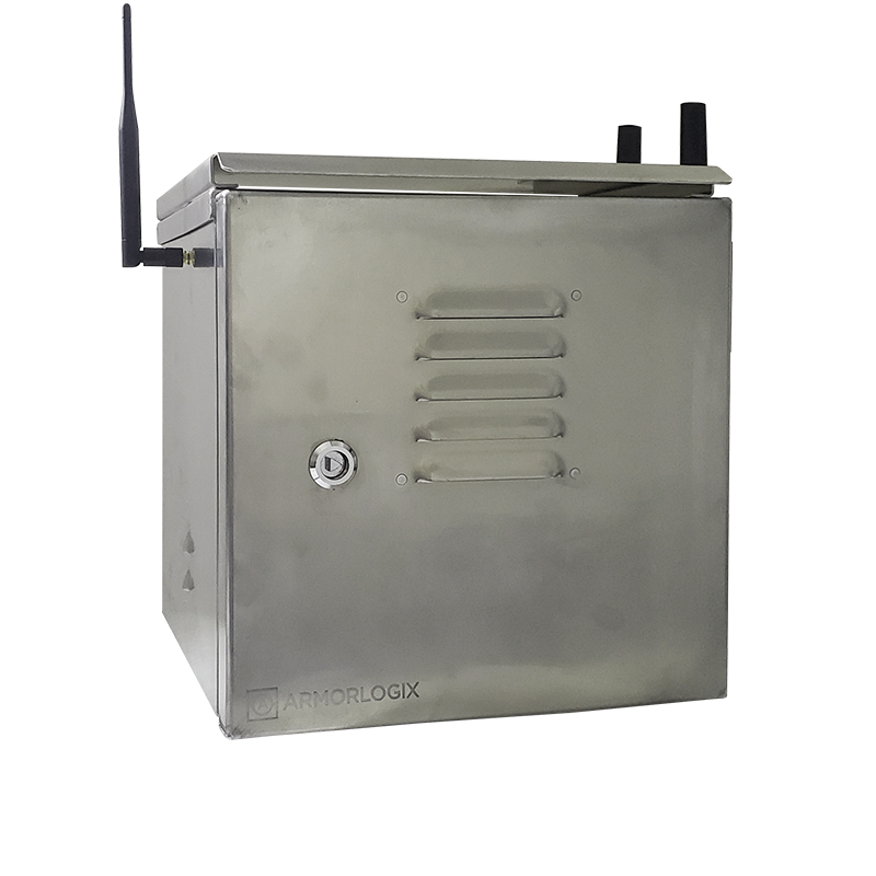 Weatherproof enclosure with 4G and GPS connectivity - Main