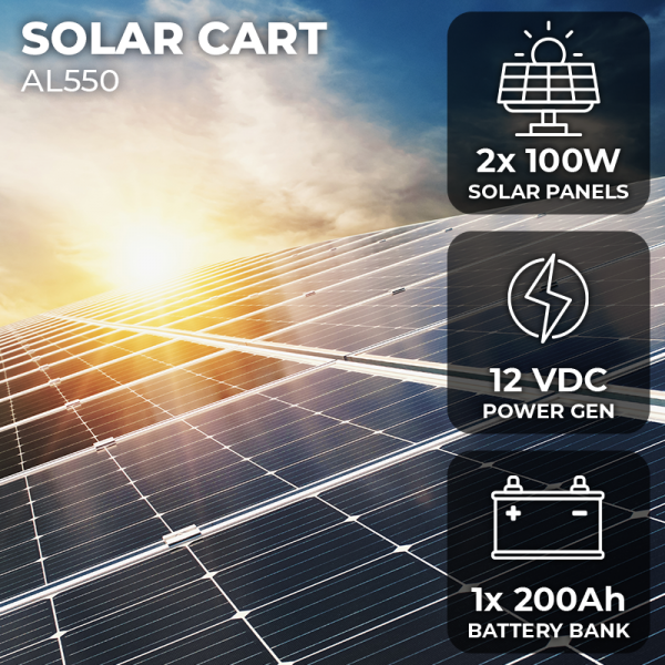 AL550 - Solar Panel Featured Image