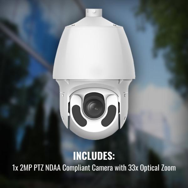 AL Surveillance Package 1x NDAA PTZ Cameras
