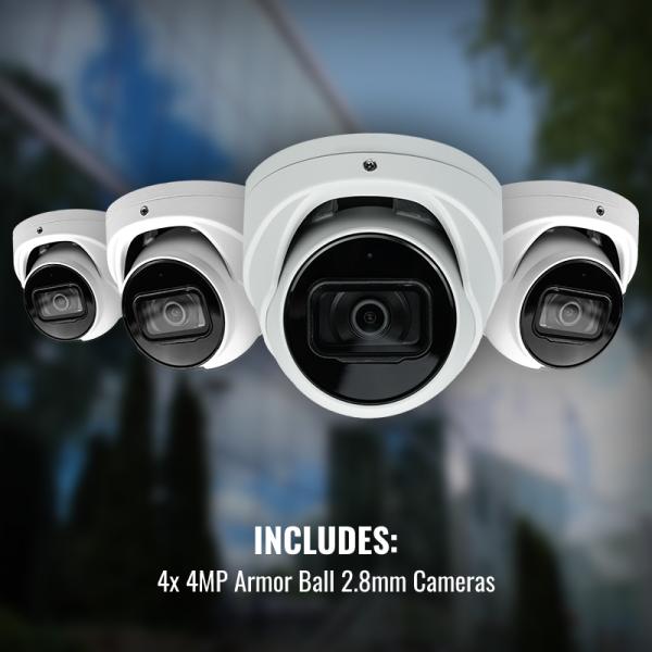 AL Surveillance Package 4x Cameras