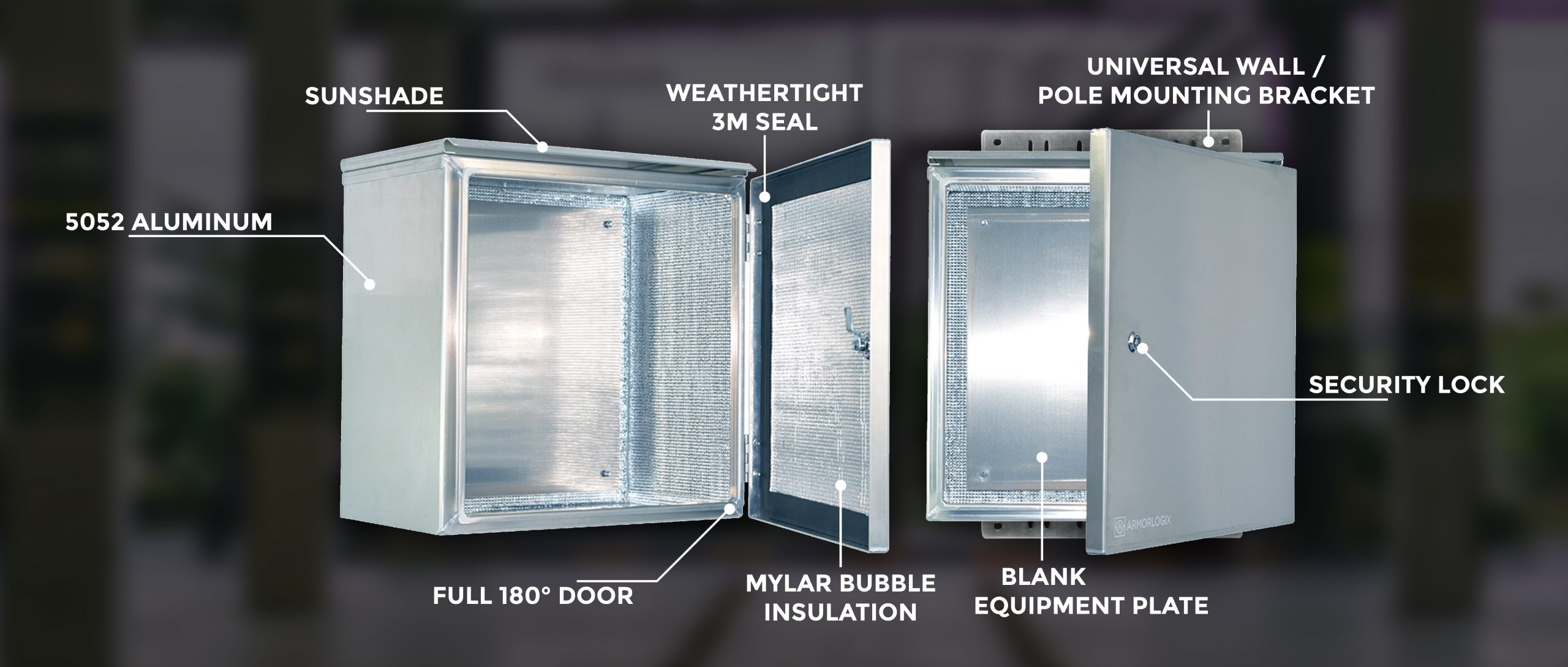 ArmorLogix NEMA 4 Weatherproof Enclosures