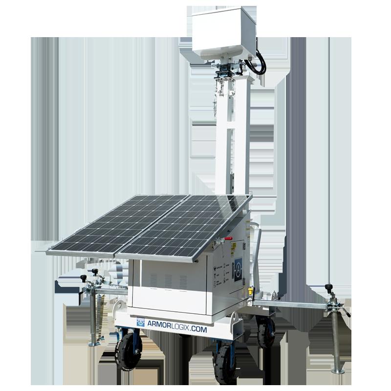 AL550 ArmorLogix Solar Cart