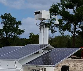 Custom Surveillance Packages for ArmorLogix Solar Surveillance Cart and Trailer