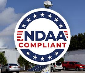 NDAA compliant surveillance carts and trailers