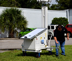 Extreme Stability with ArmorLogix Solar Carts Trailers