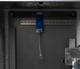 Installing DIN rail and electrical equipment in NEMA enclosure